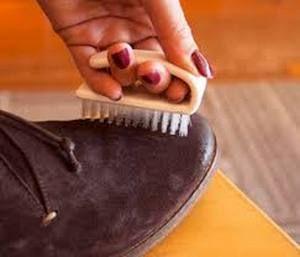 Как почистить обувь из светлого нубука