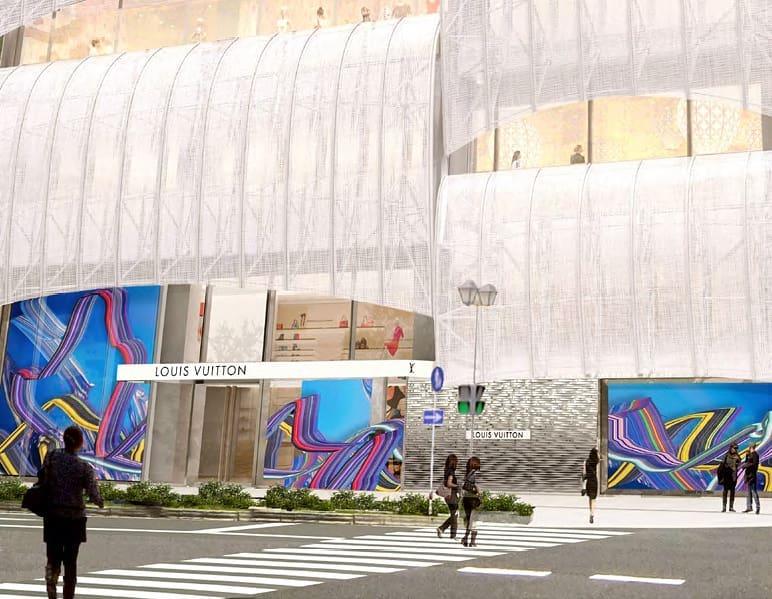 Louis Vuitton откроет свой самый большой магазин в Японии.  Люксовый модный бренд Louis Vuitton собирается открыть флагмански...