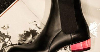 Giuseppe Zanotti представил в Милане новые модели осень '20.  В мужской коллекции Giuseppe Zanotti осень '20 - ботинки челси ...