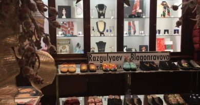 Бренд обуви Разгуляев-Благонравова открыл бутик в Москве.  Небольшой бутик питерского бренда мюлей, лоферов и домашних тапоче...