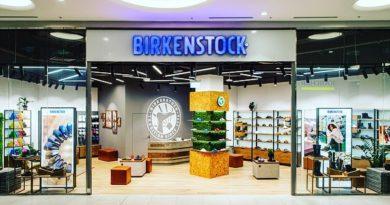 Birkenstock открыл новый магазин в Москве в ТЦ «Метрополис». В магазине представлена базовая коллекция бренда, а также обувь ...