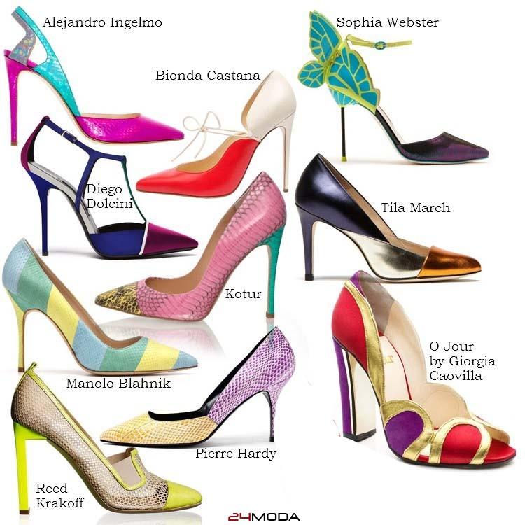Модные туфли весна-лето 2014: обозры, фотографии