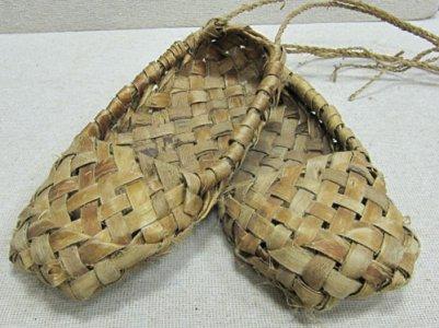 Лапти – обувь крестьян